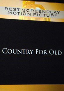 Best Picture winner No Country for Old Men