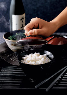 Memories of cooking rice with my mother