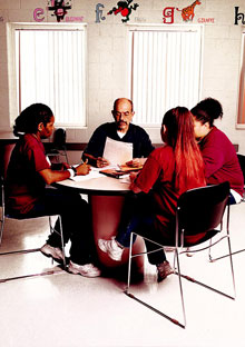 Wally Lamb teaches writing in prison