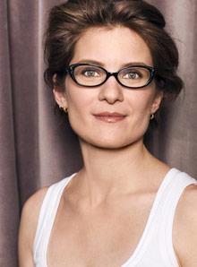 eyeglasses on model