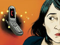 Illustration of   cell phone