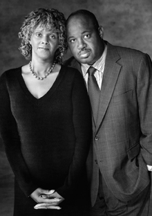 Marilyn Stevens and Dominic Carter