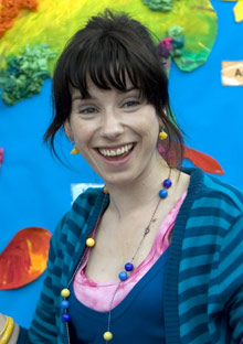 Sally Hawkins stars in Happy-Go-Lucky